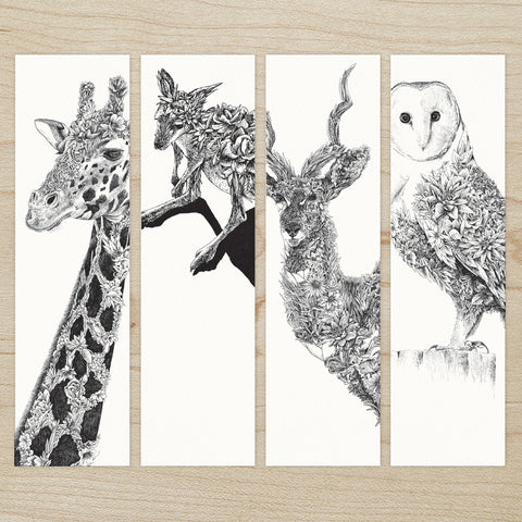 Wildlife - Bookmark Set of 8