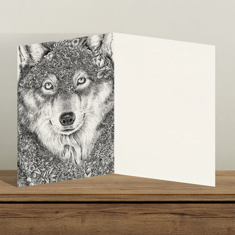 Gray Wolf - Greeting Cards