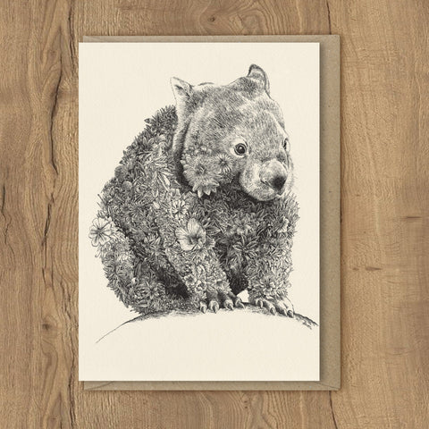 Wombat - Greeting Cards