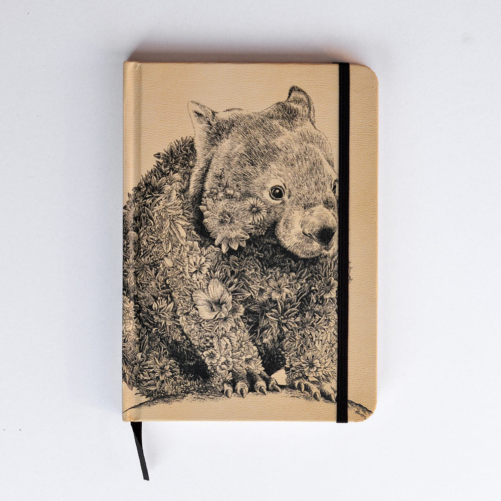 Wombat - Hard Cover Writing Journal