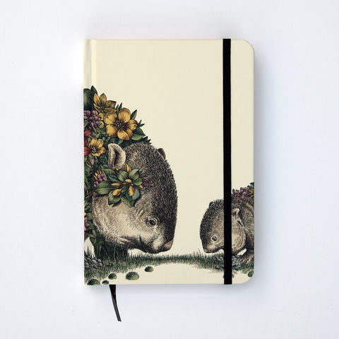 Wombat & Joey - Hard Cover Writing Journal