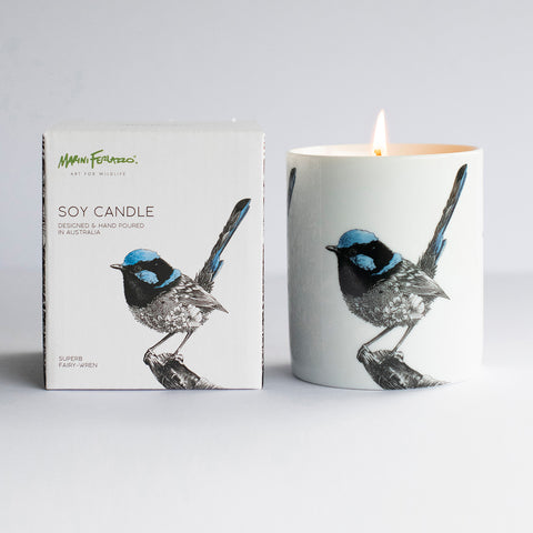 Superb Fairy-wren - Soy Candle