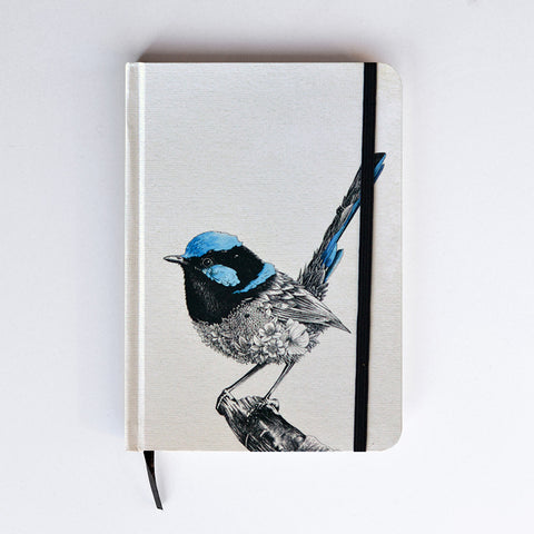 Superb Fairy-Wren - Hard Cover Writing Journal