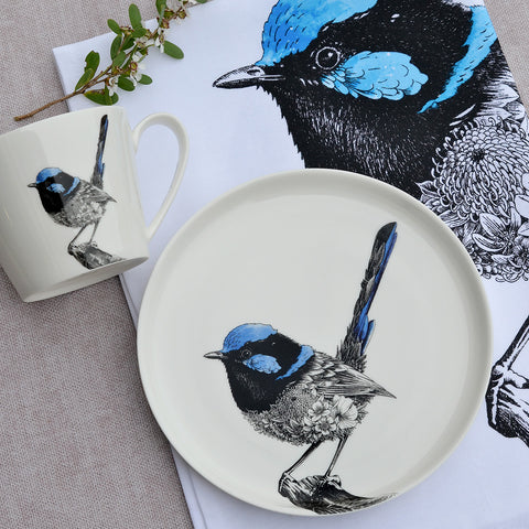 Superb Fairy-wren - Maxwell & Williams Plate