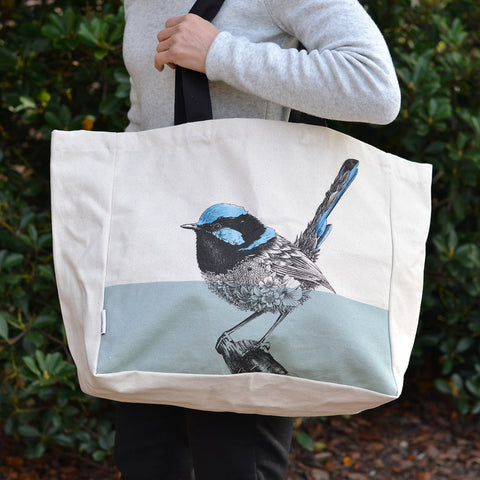 Penguin Parade - Tote Bag