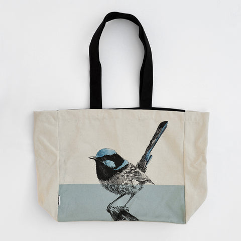 Superb Fairy-Wren - Tote Bag