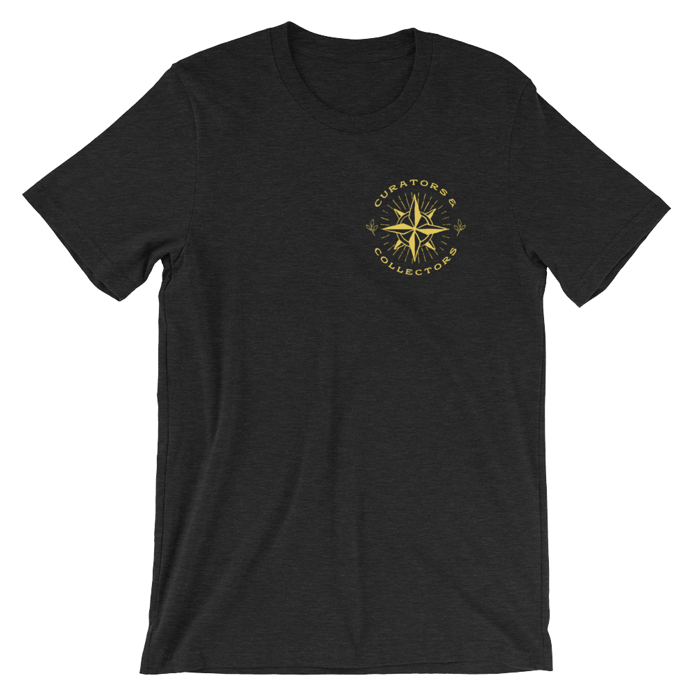 Compass Rose Tee | Heather Black