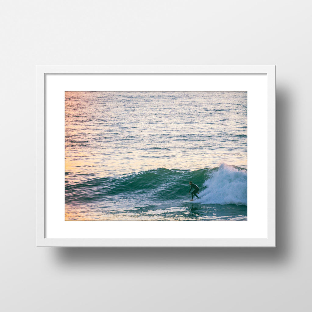 """Swell Ride"" Print by Jon Mesic, 18x24"""