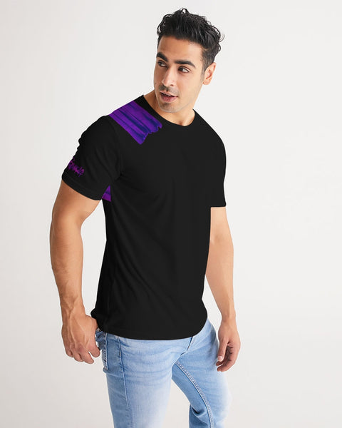 Equris x Reps4Lyfe - Carry Your Cross - Black / Royal Purple-T-Shirt-Equris
