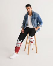Load image into Gallery viewer, Large Feather - Track Pants - Red / Black / White-Pants-Equris