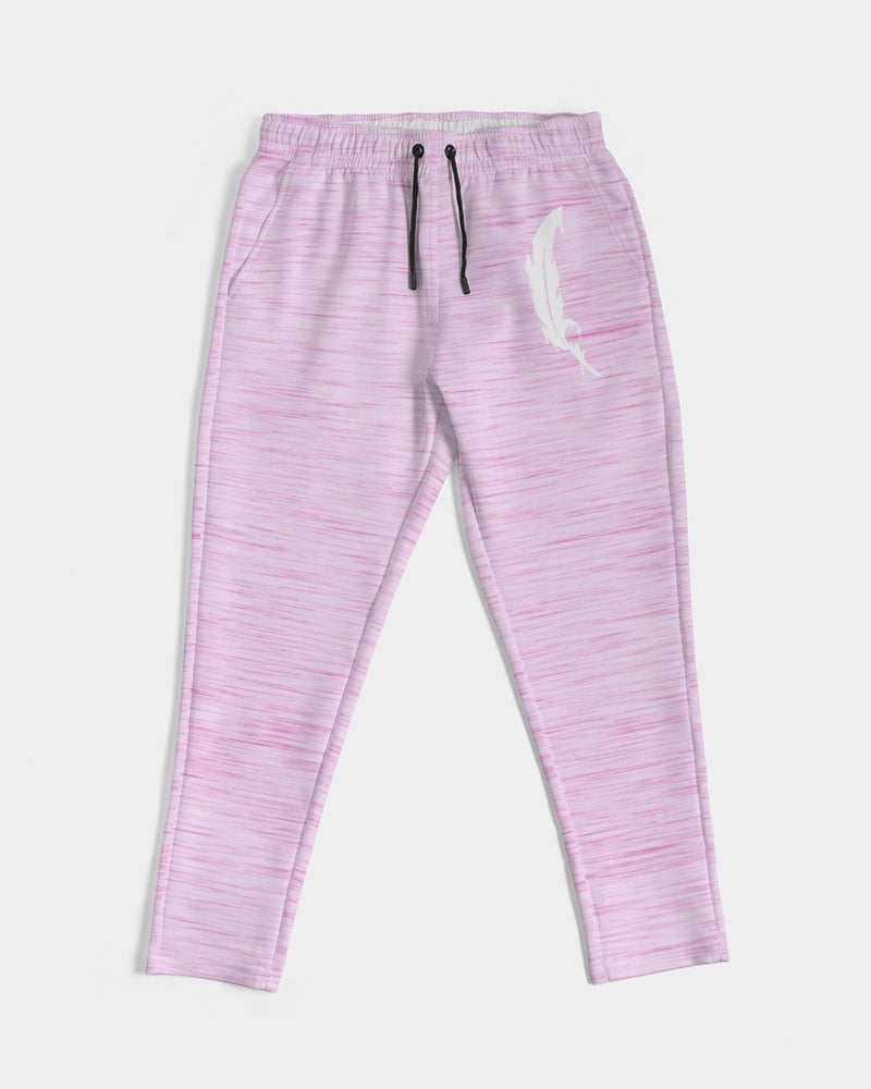 Feather Logo - Joggers- Soft Pink