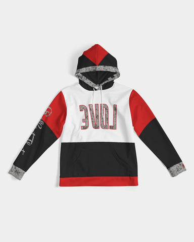 Reflect Love - Premium Hoodie - Cement / Red-Hoodie-Equris