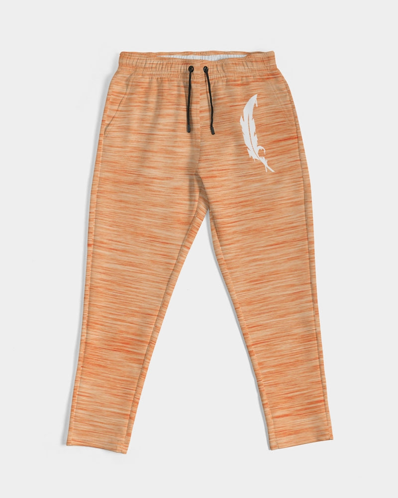 Feather Logo - Joggers- Melon Orange