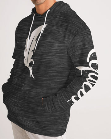 Feather Logo  - Premium Hoodie - Dark Gray