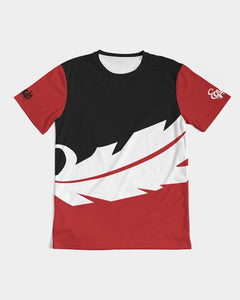 Overflow Premium T-Shirt - Red / Black/ White