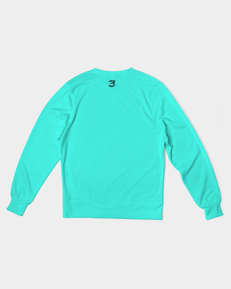 Reflect Peace - French Terry Crewneck - Island Blue