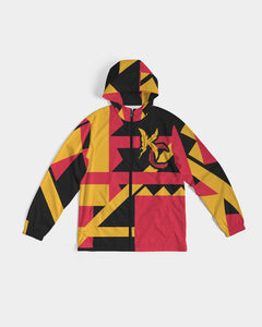 For The Tribe Black Windbreaker-Jackets-Equris