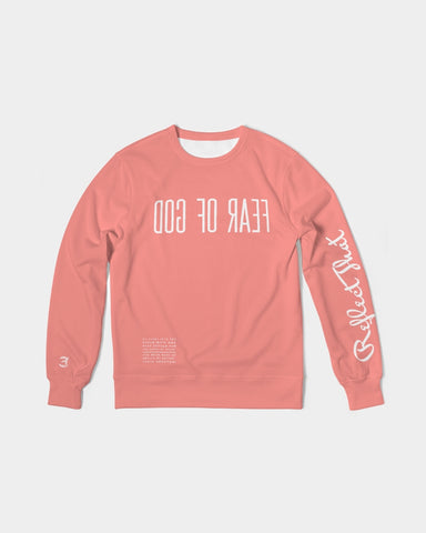 Reflect The Fear Of God - French Terry Crewneck - Coral