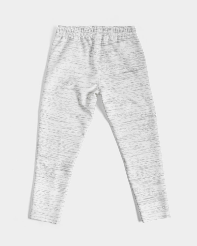 Feather Logo - Joggers- Ash/White