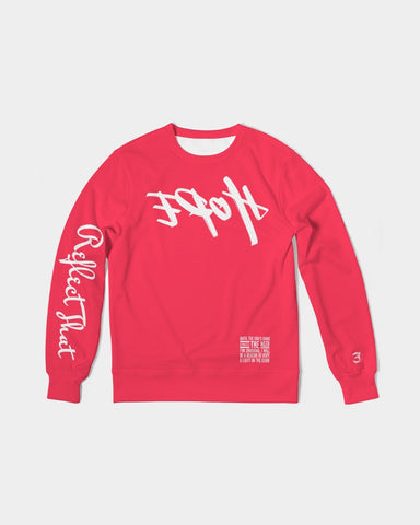 Reflect Hope - French Terry Crewneck - Infrared