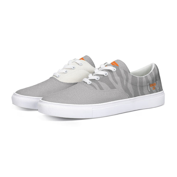 Reflect God's Image - Canvas Shoes - Gray Tiger-shoes-Equris