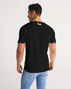 Black Equris Flourish Floral Tee-T-Shirt-Equris