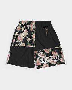 Flourish - Jogging Shorts- Black