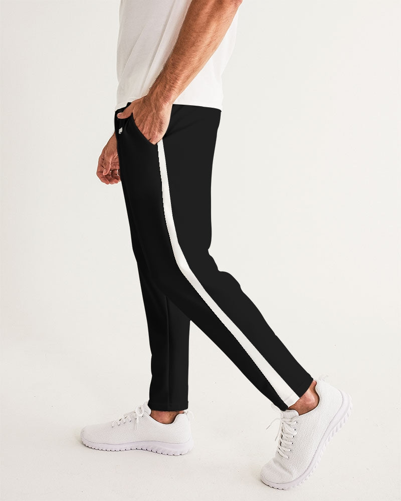 Everything Starts With E Jogger's - Black/White stripe