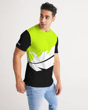 Load image into Gallery viewer, Overflow Premium Tee - Volt / White / Black