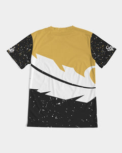 Overflow Premium Tee - Gold / Black / White