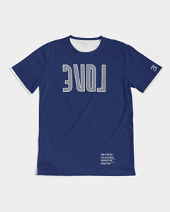 Reflect Love - Premium Tee - Flint Blue-T-Shirt-Equris