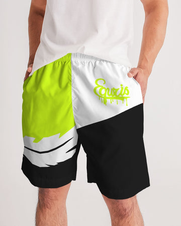 Overflow - Jogging Shorts- Volt / White / Black