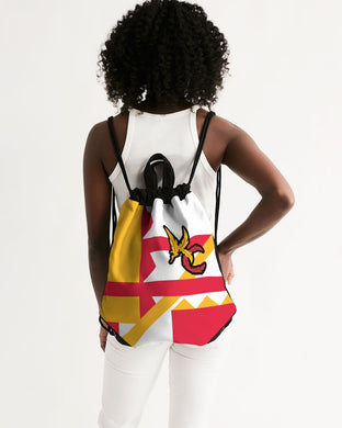 For The Tribe Canvas Drawstring Bag-accessories-Equris