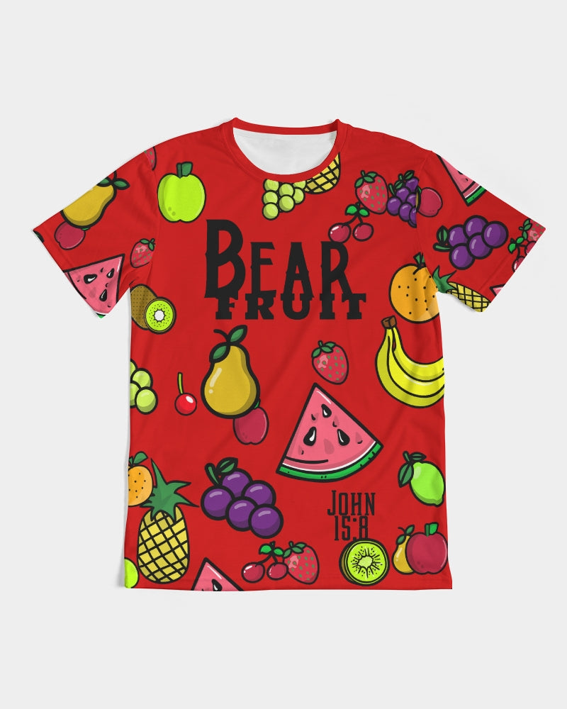 Bear Fruit - Premium T-Shirt- Fruit Punch Red