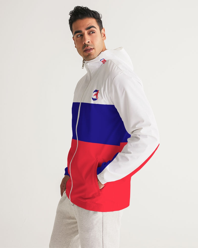 Reflect Mercy - Windbreaker - White / Red / Blue-cloth-Equris