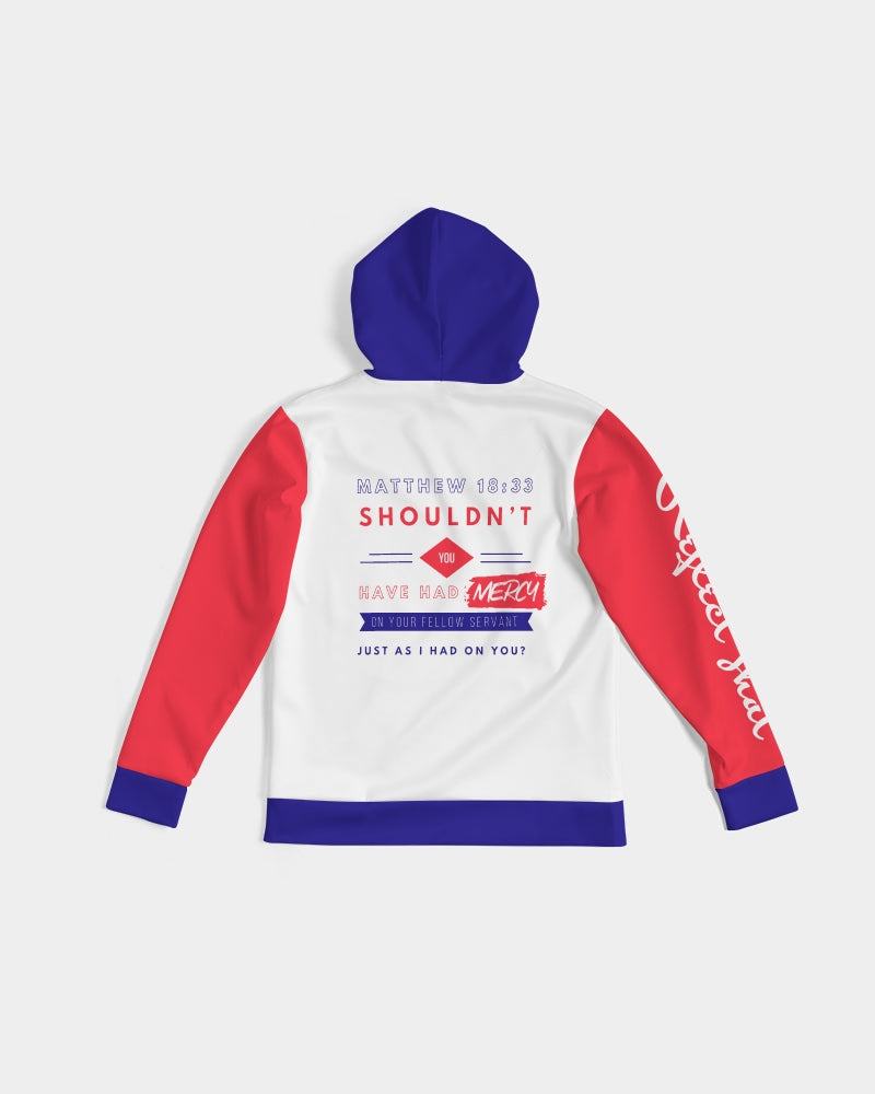 Reflect Mercy - Premium Hoodie - White / Red / Blue-cloth-Equris
