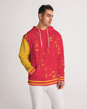 The Motto - Premium Hoodie - Red and Yellow