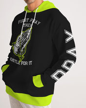 Load image into Gallery viewer, First Pray -Premium Hoodie - Neon-Hoodie-Equris