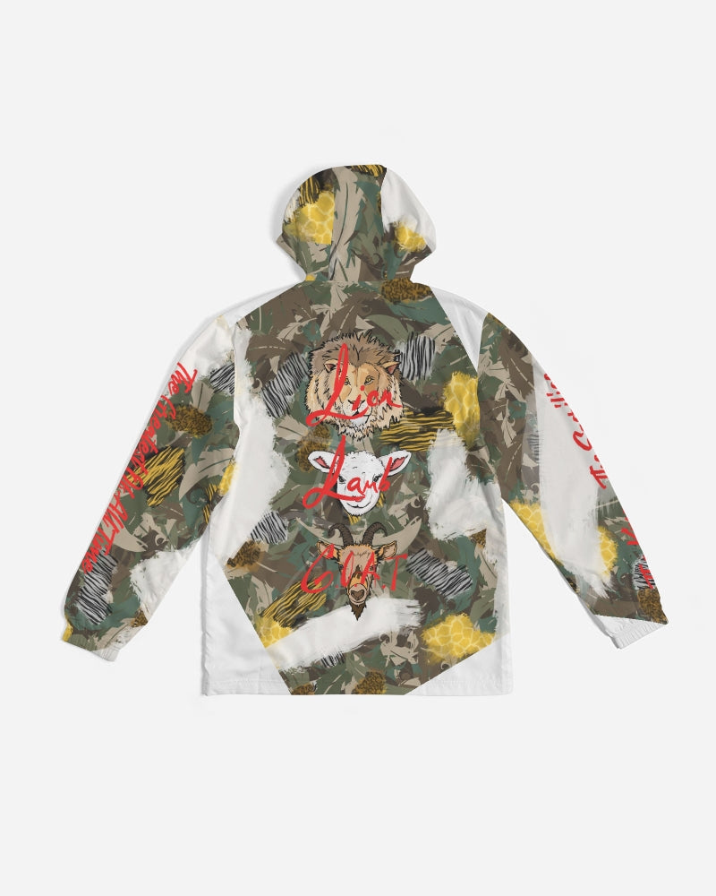 Jesus is A Beast - Windbreaker - Safari Camo