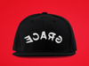 Reflect Grace - Black Snapback-hats-Equris