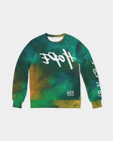 Reflect Hope - French Terry Crewneck - New Earth Tie Dye