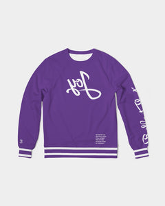 Reflect Joy - French Terry Crewneck - Purple