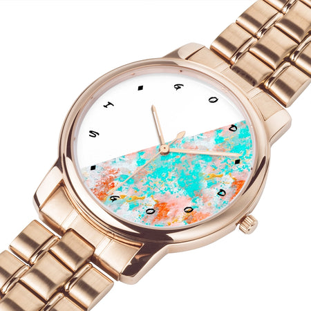 God Is Good All The Time - Rose Gold Watch