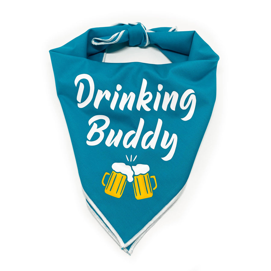 Drinking Buddy Dog Bandana Dog Bandana 78 Doggery