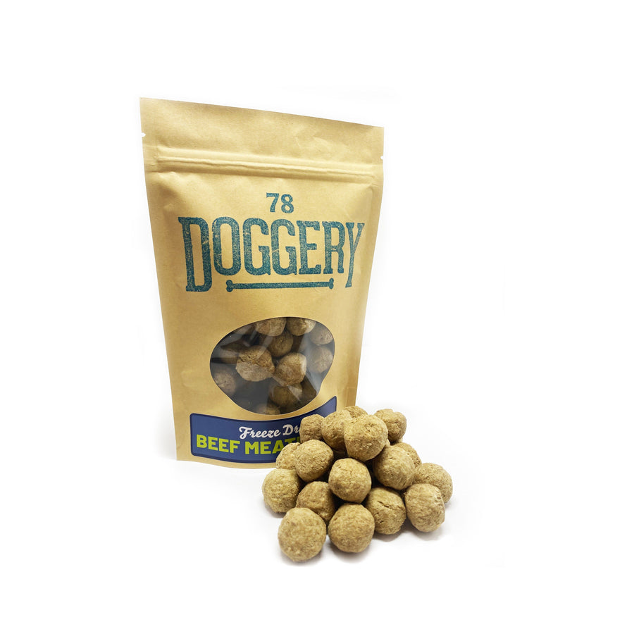 Freeze-Dried Beef Meatballs Dog Treat 78 Doggery