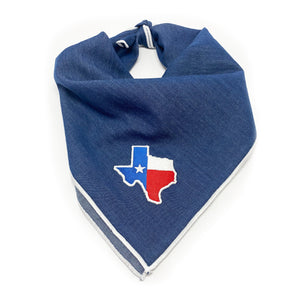 Texas Denim Dog Bandana Dog Bandana 78 Doggery