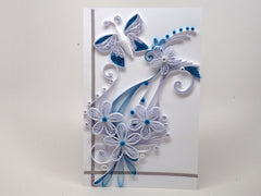 Paper filligree handmade wedding, birthday, christmas card