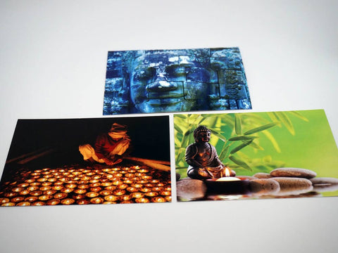 Postcards meditation - pack 6 pieces