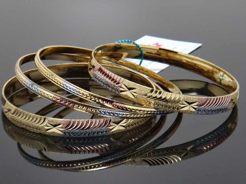 Elegant multicoloured bangles
