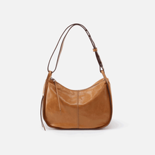 Load image into Gallery viewer, Hobobag Arlet convertible crossbody and shoulder bag in honey color